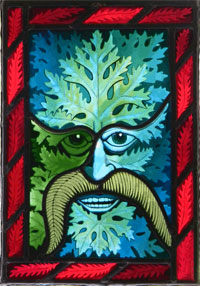 Edward Scott's Green Man