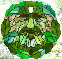 Green Man bu an unknown artist