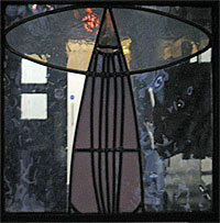 Mackintosh Stained Glass Panel