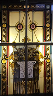 Dominic Commane stained glass window