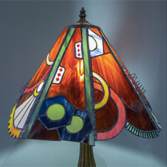 Steam Punk Tiffany Lamp