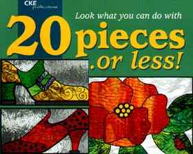 20 Pieces or Less of stained glass