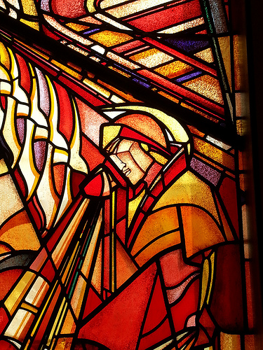 3rd stained glass panel in The Hague