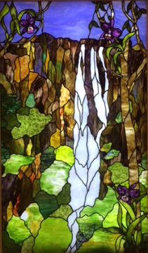 Art Glass by Wells panel