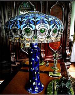 Georgeous hot glass lamp